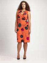 Anna Scholz Anna Scholz, Salon Z Silk Crepe Wrap Dress