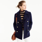 J.Crew Majesty peacoat in stadium cloth