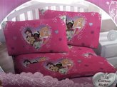 Disney Princess Pink Hearts Full Sheet Set