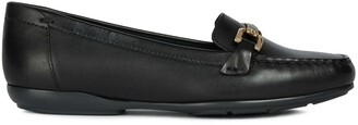 Geox Annytah Leather Loafers
