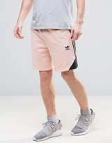 adidas Ornamental Block Shorts With Printed Panel CF5316