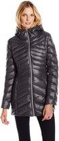 Jessica Simpson Outerwear Women's Chevron Packable Down Jacket
