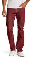 True Religion Straight Leg Flap Pocket Corduroy Pants