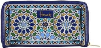 Harrods Mosaic Zip-Around Wallet