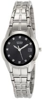 Citizen Women's EW1410-50G Dress Diamond Eco Drive Watch
