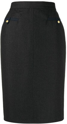 Chanel Pre Owned 1990s Pencil Skirt