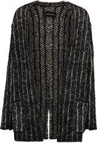 By Malene Birger Reversible intarsia-knit cardigan