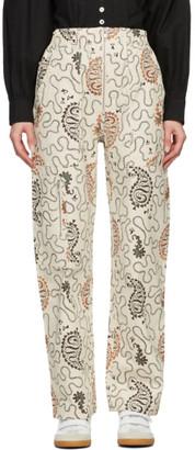 Etoile Isabel Marant Off-White Noferis Jeans