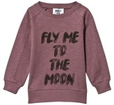 Someday Soon Fly Me To The Moon Crewneck Sweater