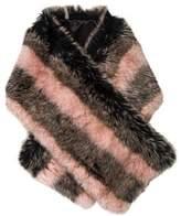 Jocelyn Faux Fur Stole