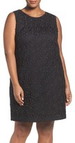 Adrianna Papell Plus Size Women's Lace Shift Dress