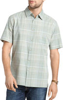 Van Heusen Short-Sleeve Faux Linen Shirt