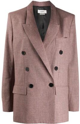 Etoile Isabel Marant Longline Double-Breasted Blazer