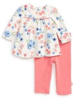 Offspring Infant Girl's Flower Tunic & Leggings Set