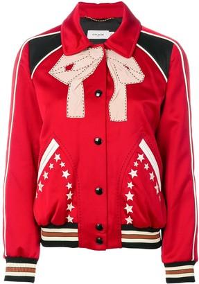 Coach classic collar bomber jacket
