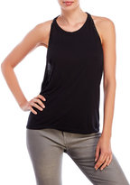 Religion Definition Beaded Backless Tank