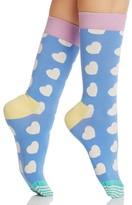 Happy Socks Heart Combed Socks