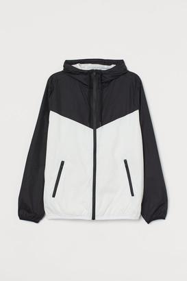 H&M Nylon Windbreaker - White
