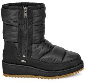 UGG Ridge Faux Fur-Lined Quilted Boots