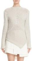 Narciso Rodriguez Women's Handkerchief Hem Cashmere Sweater