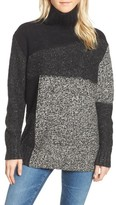French Connection Women's Anna Patchwork Turtleneck