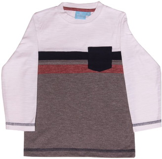 Bear Camp Kids' Stripe Pocket T-Shirt