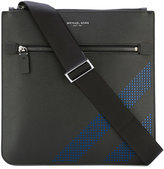 Michael Kors blue perforation flight bag - men - Calf Leather - One Size