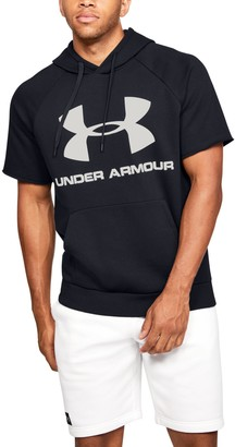 Under Armour Men's UA Rival Fleece Logo Short Sleeve Hoodie