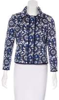 Carolina Herrera Printed Casual Jacket
