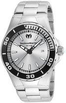Technomarine Men's Manta 44mm Steel Bracelet & Case Quartz Analog Watch 215048
