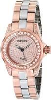 Invicta Women's 16008 Angel Analog Display Swiss Quartz Two Tone Watch