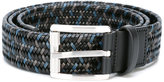 Salvatore Ferragamo braided belt - men - Calf Leather - 110