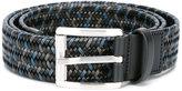 Salvatore Ferragamo braided belt - men - Calf Leather - 90