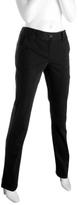 black stretch cotton skinny pants
