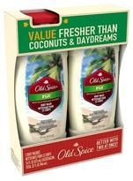Old Spice Fresher Collection Fiji Twin Body Wash - 32 oz