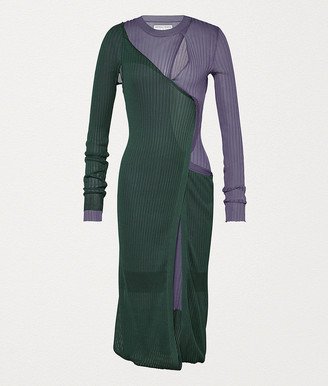 Bottega Veneta Dress In Silk