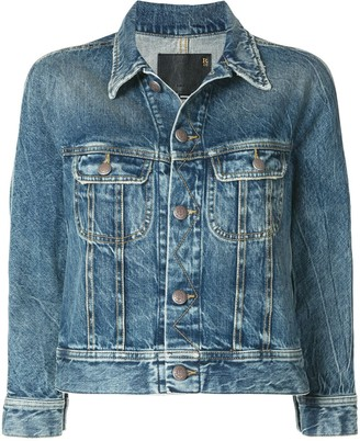 R 13 Tanner Trucker denim jacket
