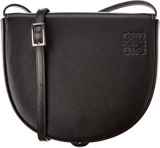 Loewe Heel Mini Leather Crossbody