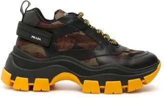 Prada Pegasus Chunky Sole Sneakers