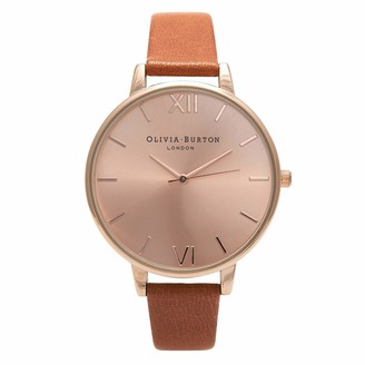 Olivia Burton Women's Analogue Japanese Quartz Watch with Leather Strap OB15BD70