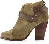 Rag and Bone Rag & Bone Harrow Nubuck Ankle Boot, Stonewall Green