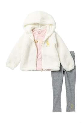 Juicy Couture 3-Piece Fleece Sweater Set (Todler Girls)