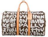 Louis Vuitton Graffiti Keepall 50