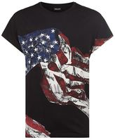 Just Cavalli American Flag T-shirt