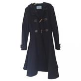 Prada Blue Wool Coat