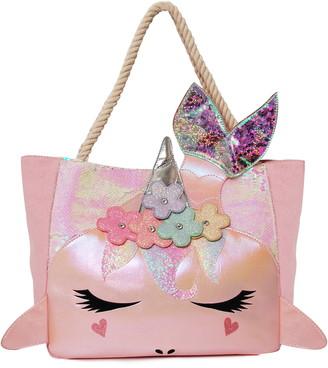 OMG Accessories OMG Mermaid Gisel Sequins Tote Bag