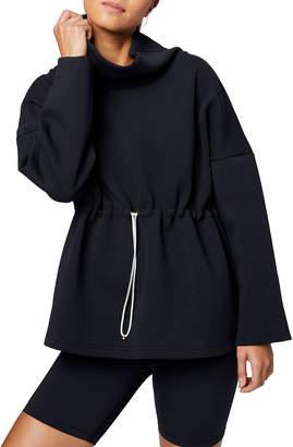 Varley Barton Sweat Funnel Neck Pullover Sweatshirt