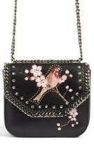 Stella McCartney Black Falabella Box Bird Shoulder Bag - Black