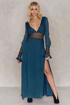 For Love & Lemons Celine Maxi Dress