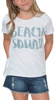 O'Neill Girl's Beach Squad Glitter Graphic Tee
